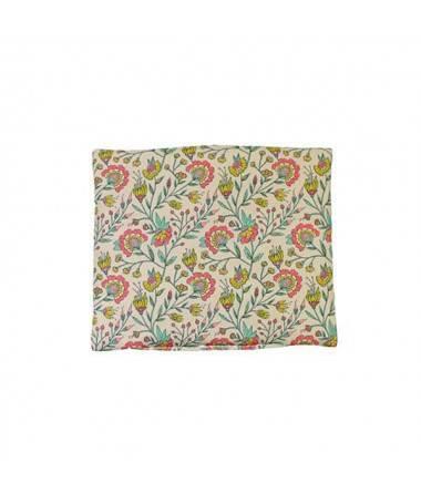 Coussin de chaise haute en coton Fleurs - Poupée Gordis