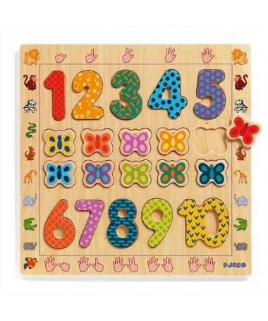 1-10 - Puzzle chiffres