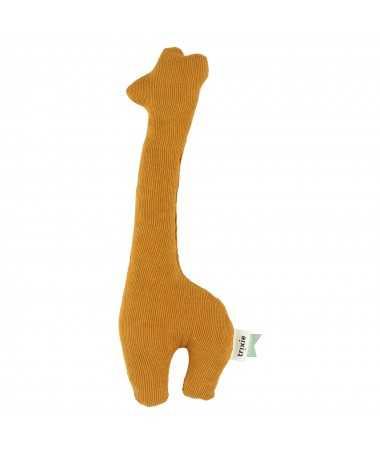 Hochet girafe - Ribble Ochre - Lange biologique