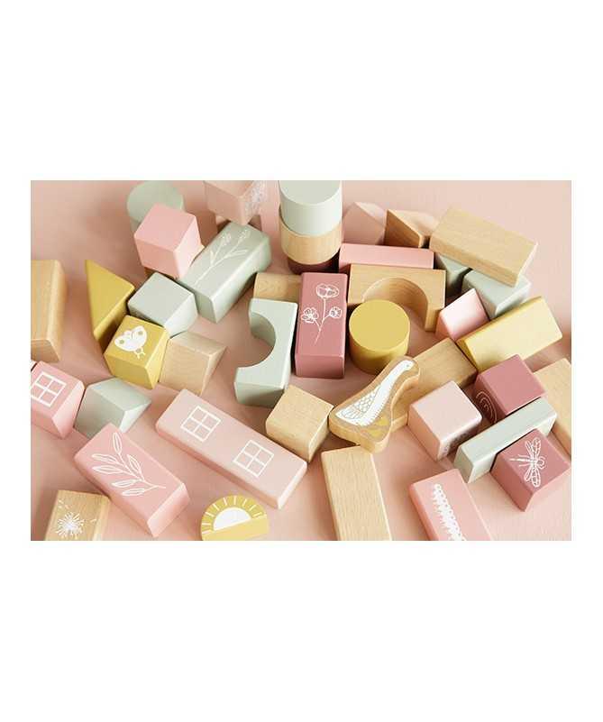 Blocs en bois (tonneau) -Pink