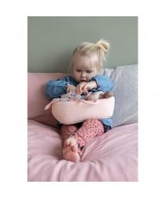 Set couffin et poupon bébé Rosa
