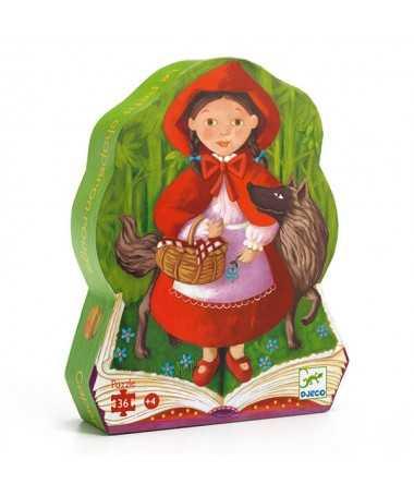 Puzzle - Le petit chaperon rouge (36 pcs)