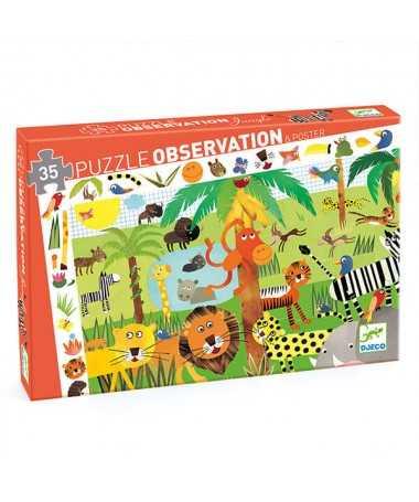 Puzzle - La Jungle (35 pcs)