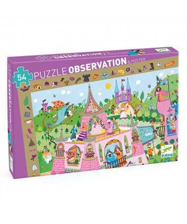 Puzzle - Princesses (54 pcs) FSC MIX