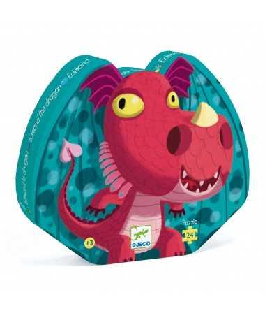 Puzzle - Edmond le dragon (24 pcs)