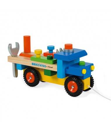 Camion de bricolage Bricokid's