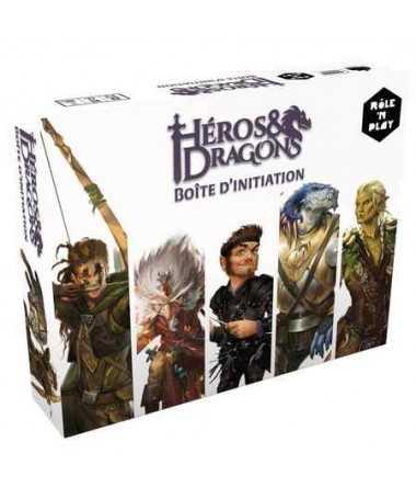 Héros & dragons - Boîte d'initiation JDR