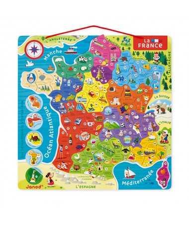 Puzzle magnétique - France