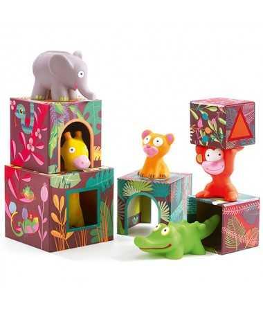 Maxi Topanijungle - Pyramide & figurines