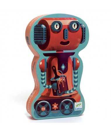Puzzle - Bob le robot (36 pcs)