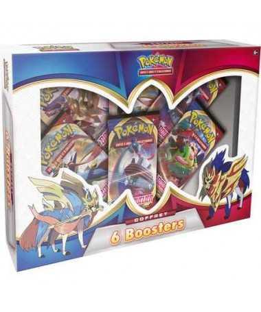 Pokemon - Coffret 6 Boosters Épée et Bouclier