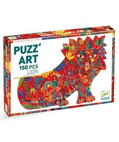 Puzzle ajouré - Lion (150 pcs) FSC