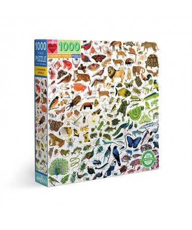 Puzzle - A rainbow world (1000 pcs)