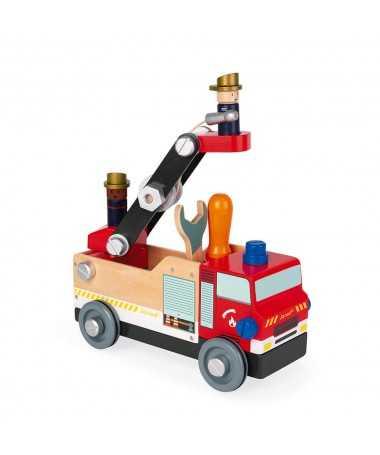 Camion pompiers - Brico'kids