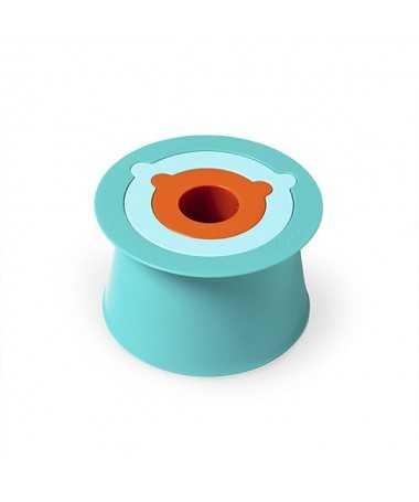 Jouet de Plage - Trio de seaux - Alto Bleu et orange