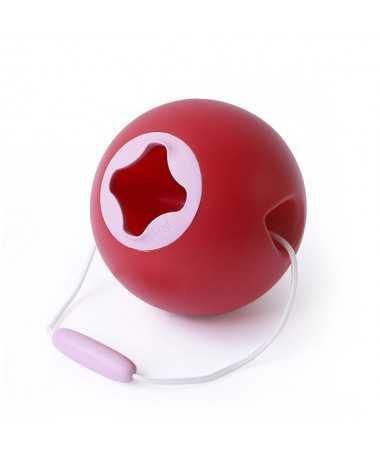 Jouet de Plage - Seau ballon - Ballo Cerise et Rose - 20 cm