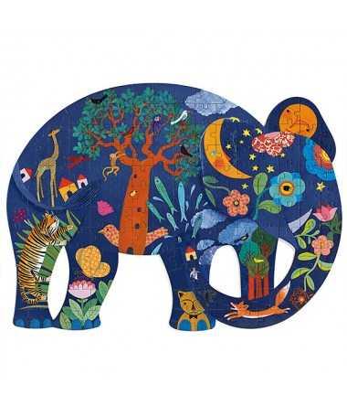 Puzzle ajouré - Éléphant (150 pcs)