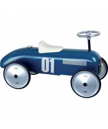 Porteur vintage - Bleu pétrole