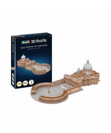 Puzzle 3D Saint Pierre de Rome (68 pcs)