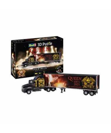 Puzzle 3D Camion tournée Queen 50ème anniversaire (128 pcs)