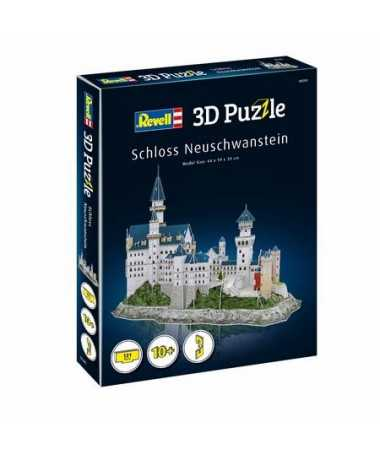 Puzzle 3D Château de Neuschwanstein (121 pcs)