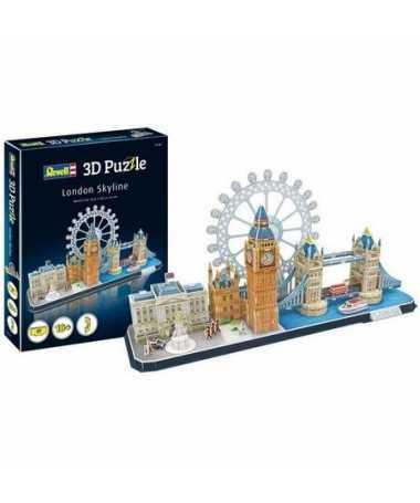 Puzzle 3D City Line London (107 pcs)