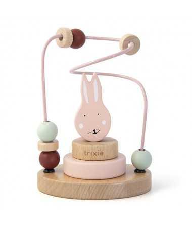 Circuit de perles en bois - Mrs. Rabbit - FSC